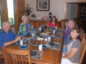 Family at The White River Inn.