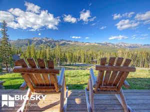 Relaxing at Big Sky Vacation Rentals.