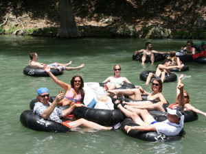 Tubing at River City Resorts.
