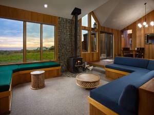 Rental living room at Sea Ranch Lodge Vacation Rentals.