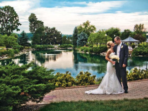 Romantic wedding at The Osthoff Resort.
