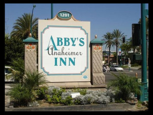 Welcome to Abby's Anaheimer Inn.
