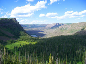 Scenic view from Trappers Lake Lodge & Resort.