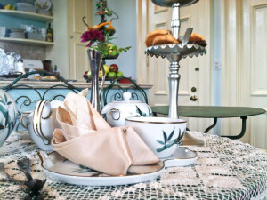 Tea time at The Inn at 400 West High.