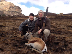Hunting at Mount Everest Guest Farm.
