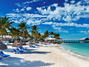 The beach at Sunset Key Guest Cottages, a Luxury Collection Resort.