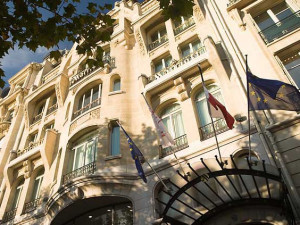 Exterior view of Paris Marriott Champs Elysees.