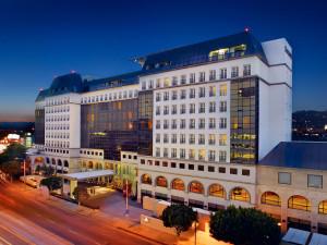 Exterior view of Sofitel Los Angeles.