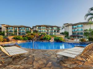 Vacation rental outdoor pool at Kauai Calls!