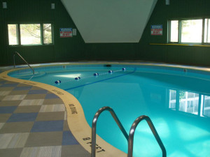 Indoor pool at the Sugar Ski and Country Club.