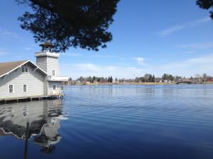 Lake view at The Beacons of Minocqua.