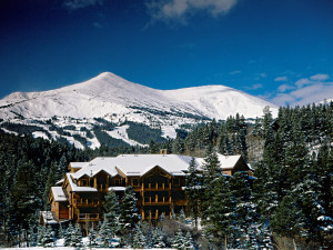 Vacation rental exterior at Breckenridge Colorado Vacations.