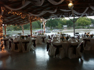 Beautiful Wedding Settings at Roddy Tree Ranch