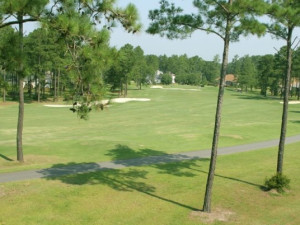 Golf course at Brunswick Plantation Resort.