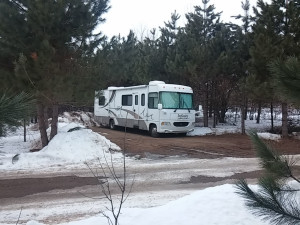 RV camping at The Red Door Resort.