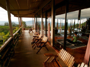 Beautiful Wraparound Deck at Pura Vida Spa & Retreat