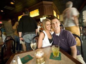 Fine dining at ParkShore Resort.