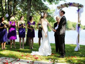 Wedding at Patterson Kaye Resort.