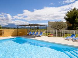 Outdoor pool at Le Clos des Pins.