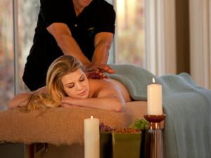 Back massages at Wintergreen Resort.
