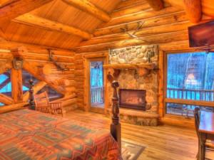 Vacation rental bedroom at SkyRun Vacation Rentals - Telluride, Colorado.