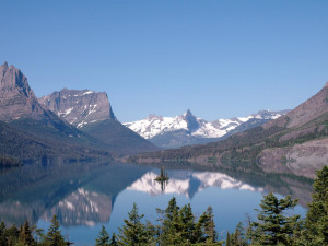 St. Mary's Lake at Glacier National Park near Five Star Rentals of Montana.