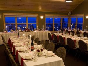 Wedding reception at Surfside on Lake Superior.