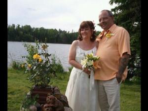 Wedding at Evergreen Lodge.