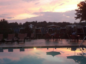 Sunset at The Residences at Biltmore.