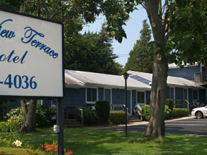 Property exterior at Ocean View Terrace Motel.