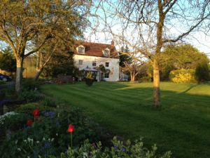 Exterior view of Beaconsfield Farm.