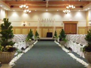 Wedding at The Heathman Lodge.
