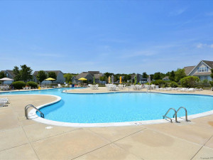 Outdoor pool at Long & Foster Vacation Rentals -Bethany Beach.