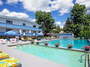 Outdoor Pool at Villa Vosilla Resort