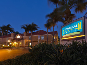 Exterior view of Staybridge Suites San Jose.