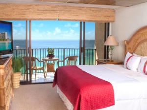 Guest room at Holiday Inn Resort.