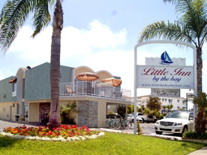 Exterior view of Little Inn by the Bay.