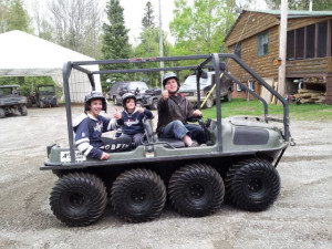 Things to do at Marten River Lodge.