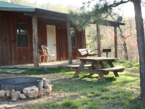 Moose Lodge at Heath Valley Cabins.