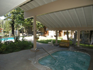 Whirlpool at Seasons 4 Condominium Rentals.