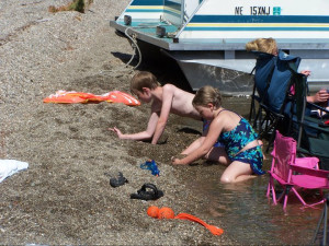 Beach fun at Wilsons on Moosehead Lake.