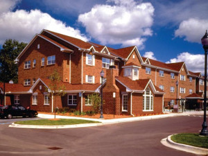 Exterior view of TownePlace Suites Detroit Sterling Heights.