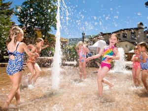 Splash pool at Manor Vail Lodge.