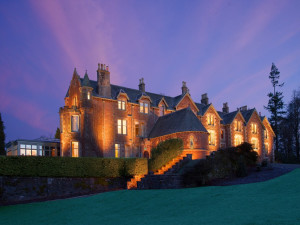 Exterior view of Cromlix House.