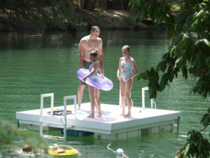 Family Fun in the River at Roddy Tree Ranch