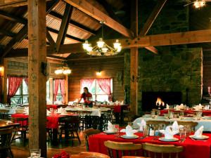 Dining at Colorado Trails Ranch.