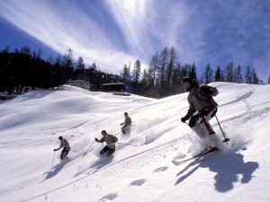 Skiing at Steamboat Lodging Properties.