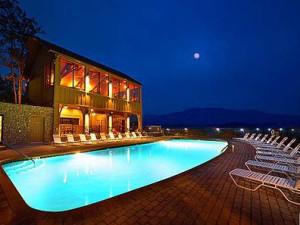 Pool at Legacy Mountain Resort