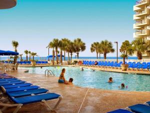 Outdoor pool at Long Bay Resort.