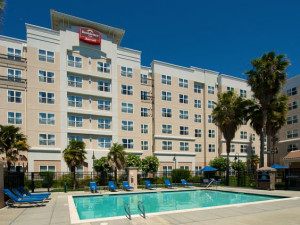 Exterior view of Residence Inn by Marriott Newark- Silicon Valley.
